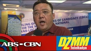 DZMM TeleRadyo: Roque denies bad blood with Duterte