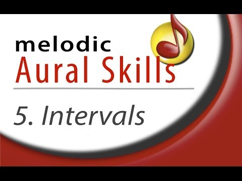 Melodic Aural Skills (Lesson 5) Melodic Intervals.