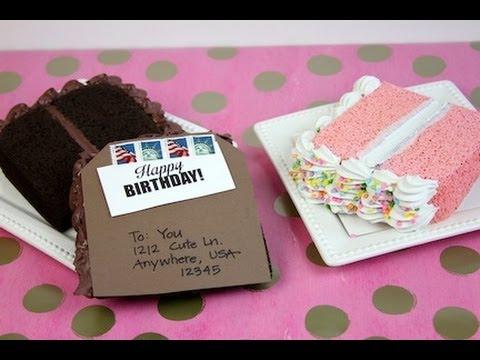 How To Make A Fake Slice Of Cake