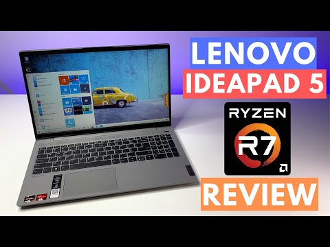 Lenovo Ideapad 5 laptop Review (2020) || AMD Ryzen 7-4700U