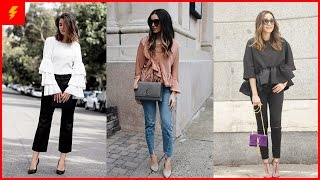 How To Wear Ruffle Tops   Outfit Inspirations