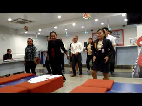 Yel yel Danamon by Team Jayapura, Abepura & Sentan