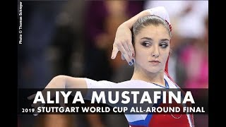Aliya Mustafina 2019 Stuttgart World Cup All-Around Final