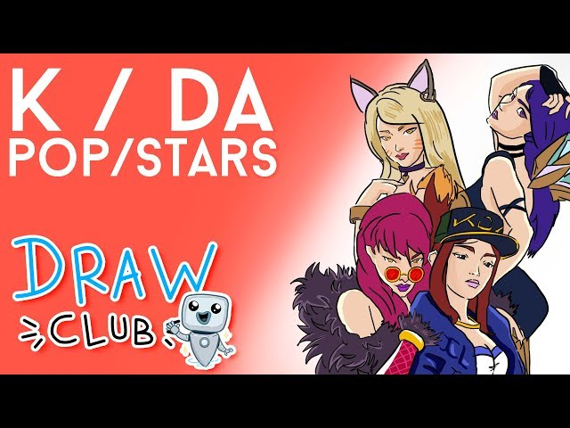 K/DA, la FUSIÓN imposible entre KPOP y League of Legends - Draw Club