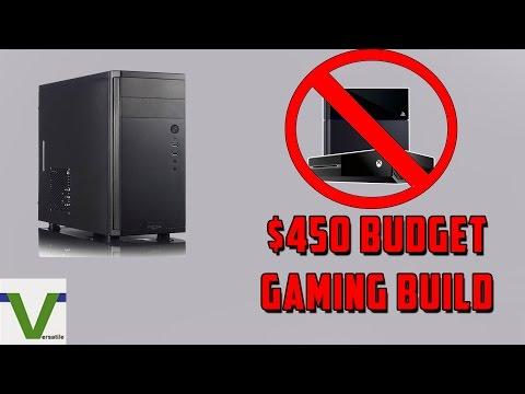 $450 Budget Gaming Computer - Console Killer - Intel Based [HD]