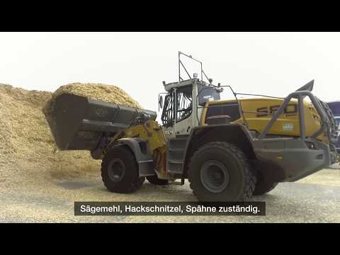 Liebherr - Radlader L 580 LogHandler XPower® überzeugt bei Ilim Timber Bavaria