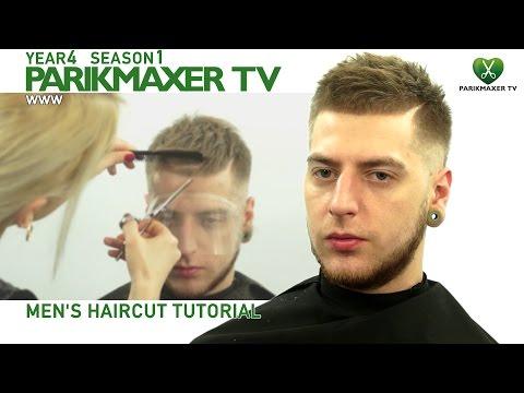 Мужская стрижка. Современный стиль. ✮ Mens Haircut Tutorial парикмахер тв parikmaxer.tv