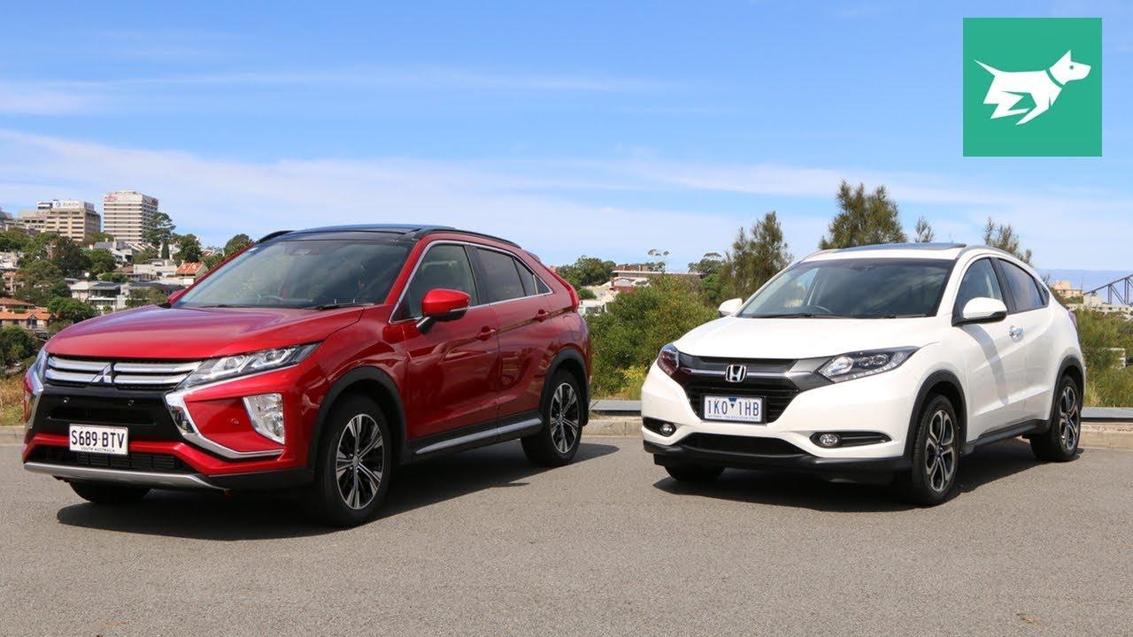 2018 Mitsubishi Eclipse Cross Vs 2017 Honda Hr V Comparison Review