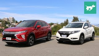 2018 Mitsubishi Eclipse Cross vs 2017 Honda HR-V Comparison Review
