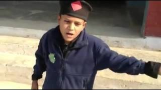 Pathan boy singing national songs of pakistan