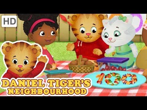 Daniel Tiger 🍝🍴 Kids Eat Healthy Food | Videos for Kids