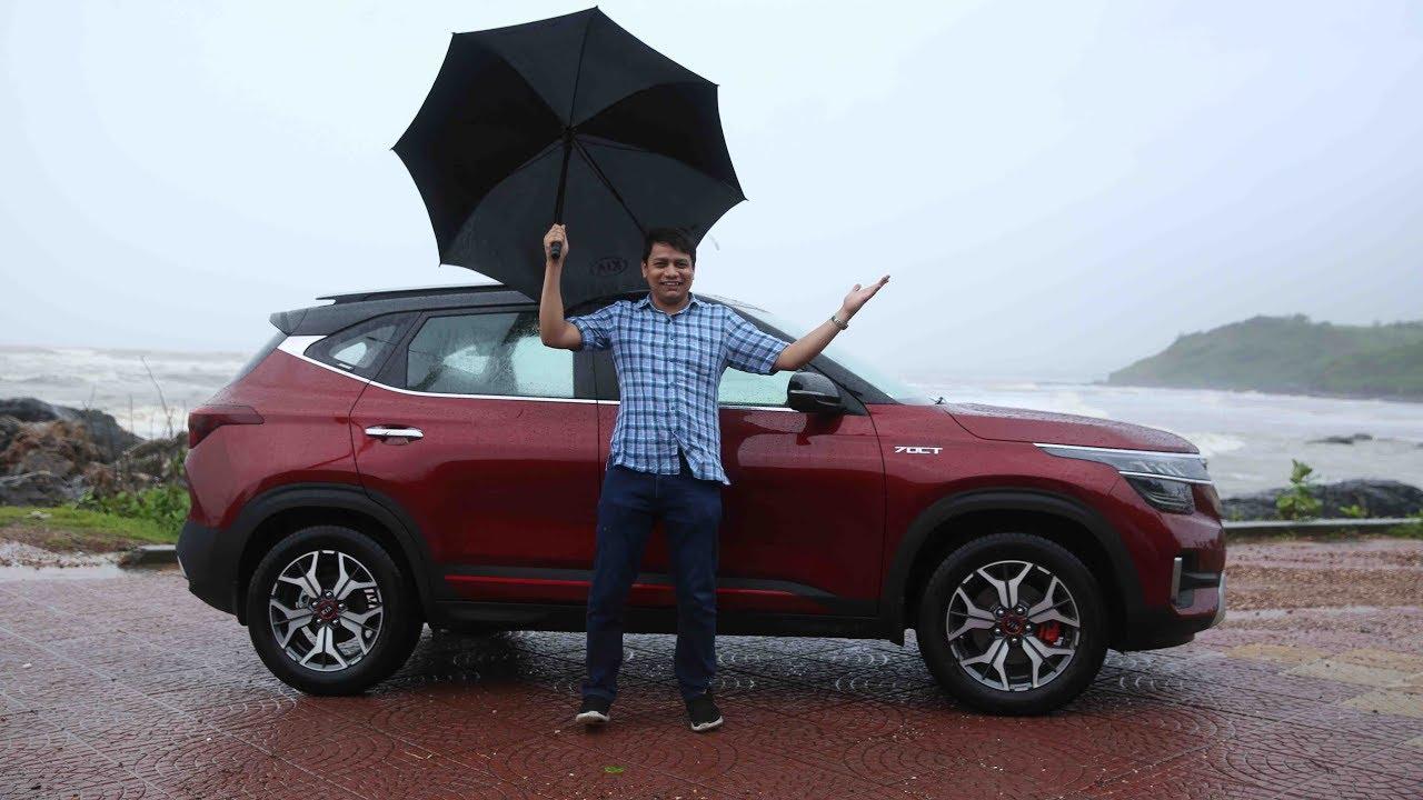 car test drive Kia Seltos Test Drive Hindi Review - Autoportal