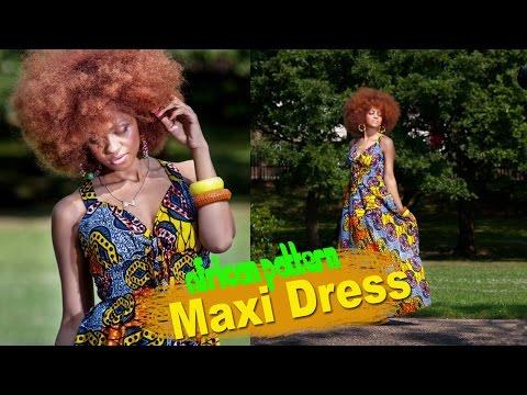 Zanjoo : African Print Maxi Dress