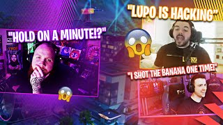 LUPO EST HACKING!? (PAS CLICKBAIT) W/ COURAGE, DRLUPO - MARSHMELLO - Fortnite Battle Royale
