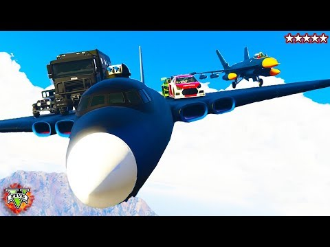 GTA 5 Unbelievable! What Can Fly?  w/The Crew - GTA5 Online - GTA 5 Online w/ The Crew