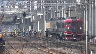 朝の通勤時間帯に!しなの鉄道北しなの線踏切事故。