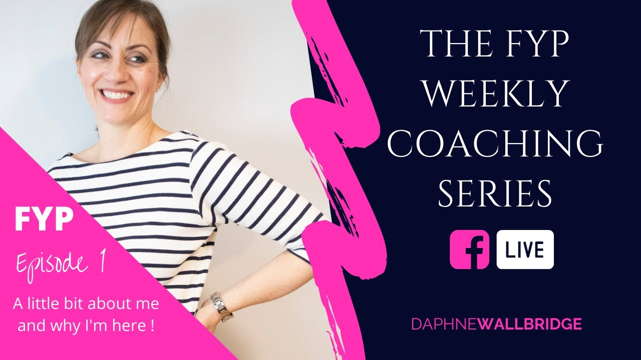 Let's talk! Join me for my NEW weekly coaching FB Live series!