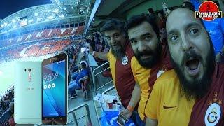 Asus Zenfone Selfie İncelemesi (Galatasaray - Atletico Madrid Maçı İçerir!!!)