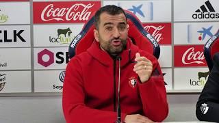Diego Martínez | Previa C. A. Osasuna vs Real Oviedo