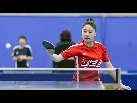 2017 US National Table Tennis Championships - Day 3 - Table 2