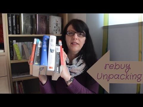 rebuy unpacking / Bücher-Haul