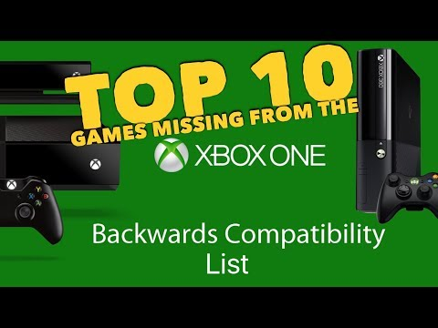 Top 10 Games Missing From The Xbox One Backwards Compatibility List