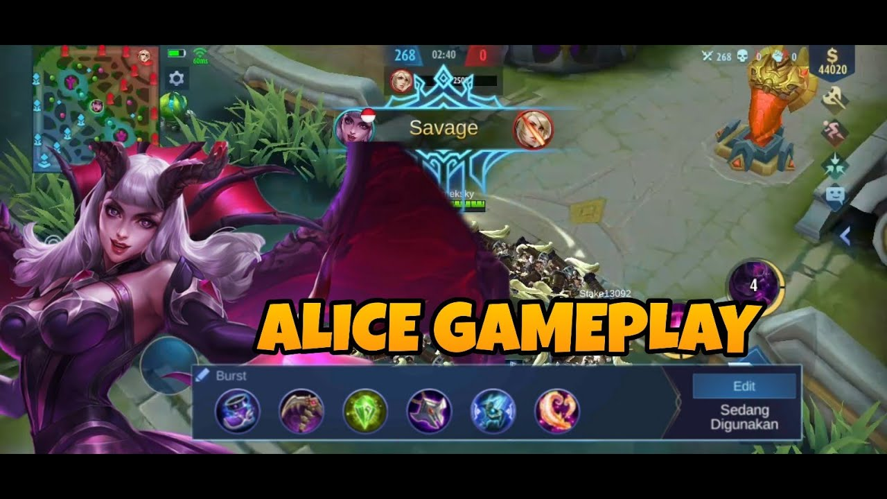MOBILE LEGEND ALICE