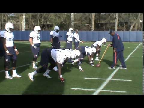 2014 Spring Practice 7--Auburn Defensive Line