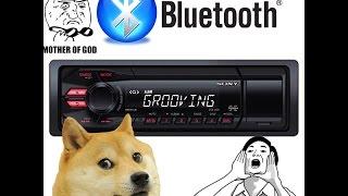 Как сделать Bluetooth опцию в обычную автомагнитолу