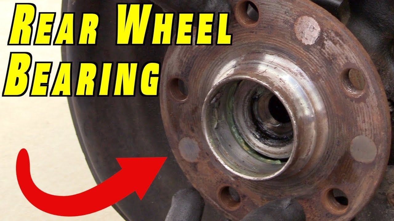 How to Check and Replace Rear Wheel Bearing ~ VW MK5 GTI