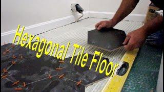 Installing A Hexagonal Tile Floor
