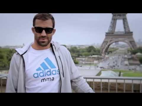 adidas mma Luke Rockhold 24 hours in Paris