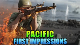 Pacific First Impressions - Iwo Jima Is It | Battlefield V