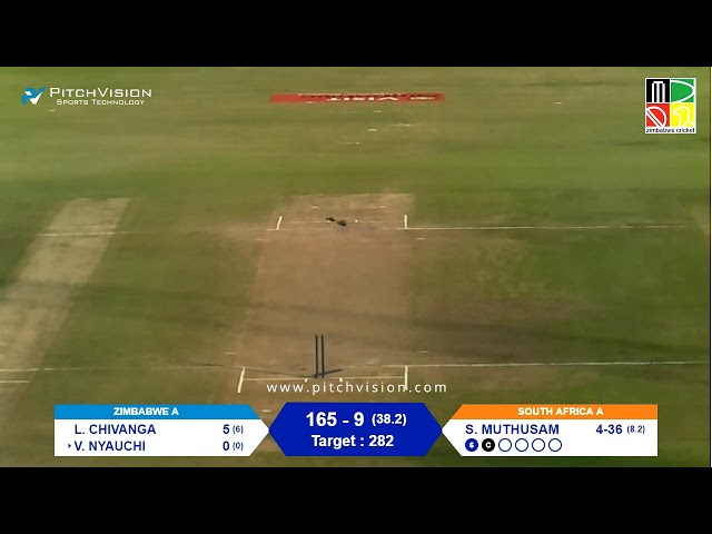 Zimbabwe A vs South Africa A | 4th One Day