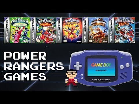 Power Rangers (GBA): Video Games Review