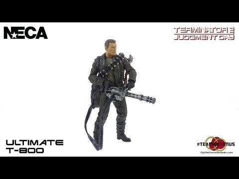 NECA Terminator 2 Judgment Day Ultimate T-800 Video Review