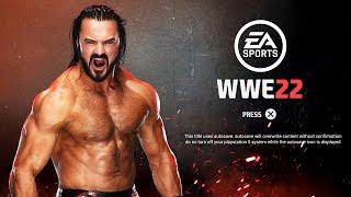 WWE 2K22: What If EA Sports Made WWE 22 / Menu Concept