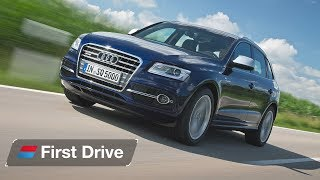 Audi SQ5 2017 First Drive Review