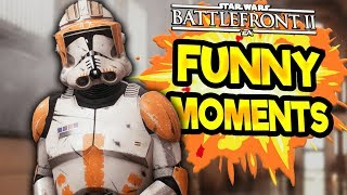 Star Wars Battlefront 2 Funny & Random Moments [FUNTAGE] #62 - Maul Madness!