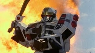 Megazord Destructions in Mighty Morphin Power Rangers - Power Rangers S.P.D.
