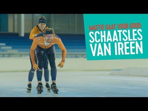 Schaatsles van Ireen Wüst // Mattie Gaat Voor Goud - #03