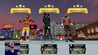 X-Mas Flavor Hoodie Pluto In Action 1500+ Wins In MyPark Grinding To 94 OVR