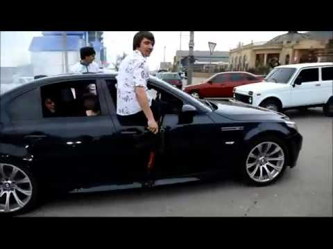 Chechen Mafia In BMW M5 With AK47 REAL GANGSTA