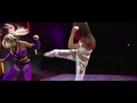 Tekken Movie - Christie Monteiro vs Nina Williams - YouTube