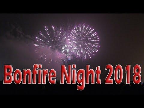 Bonfire Night 2018 - Fireworks in Leeds   4K HD