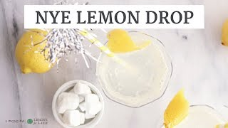 Sparkling Lemon Drop | Holiday Drink Recipe | Limoneira