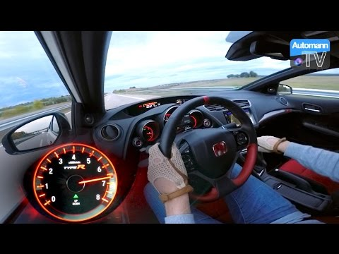 2016 Civic Type R 310hp 0 270 Km H Acceleration 60fps