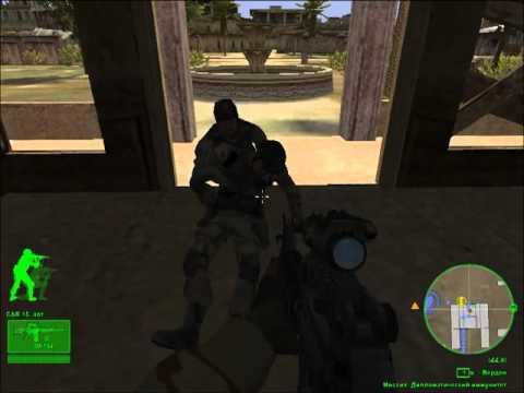 Прохождение игры Delta force (Операция черный ястреб)#9 Дипломатический иммунитет