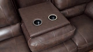 Recliner with Cup Holder and Storage Cheap