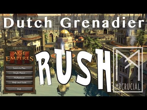 Expert Grenadier Rush | Age of Empires 3 | Dutch Vs Portuguese | with commentary | Carolina